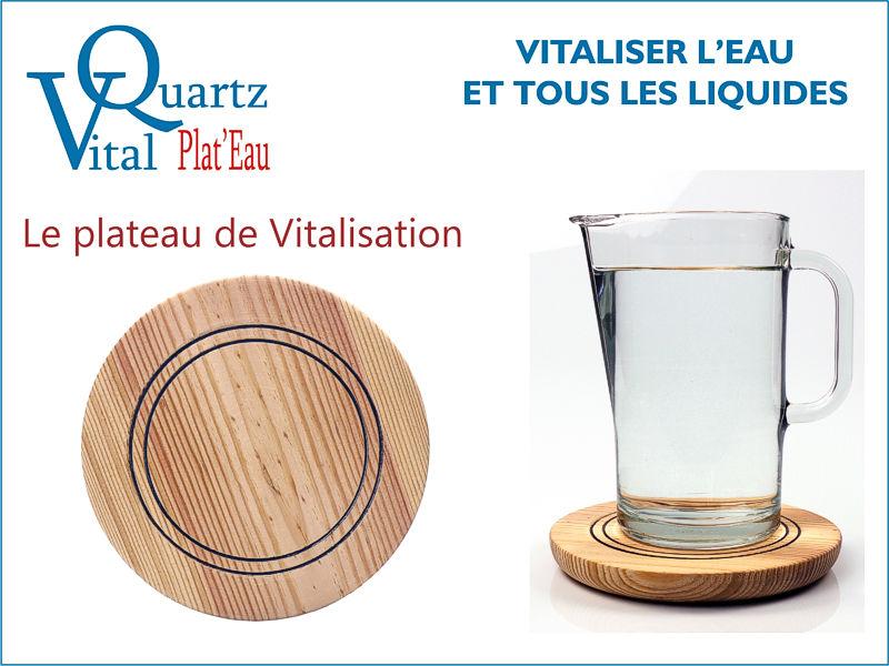 Plateau de vitalisation VitalQuartz
