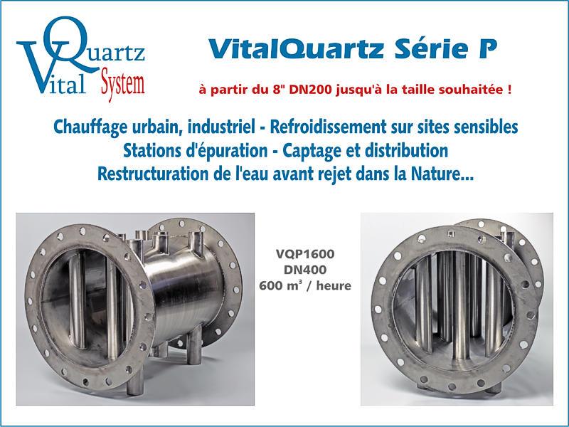 Présentation de la gamme VitalQuartz Série P.